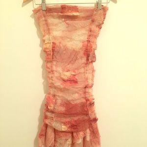 90s Vtg Mauve Fairy Dress